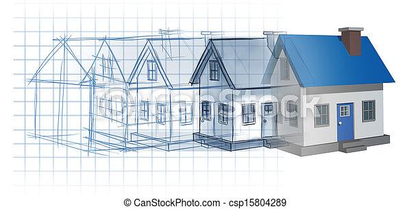 développement, résidentiel - csp15804289