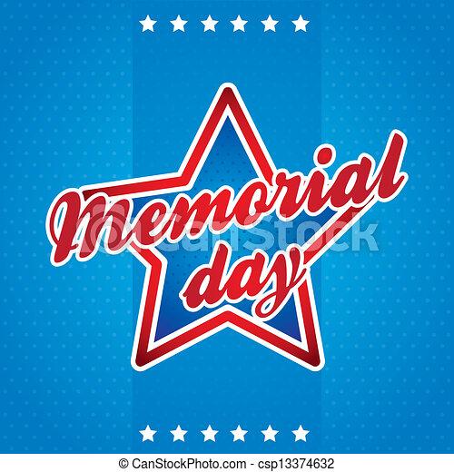 Día Memorial - csp13374632