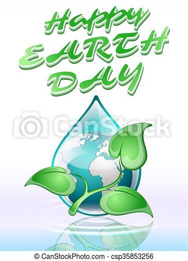Día de la Tierra - csp35853256