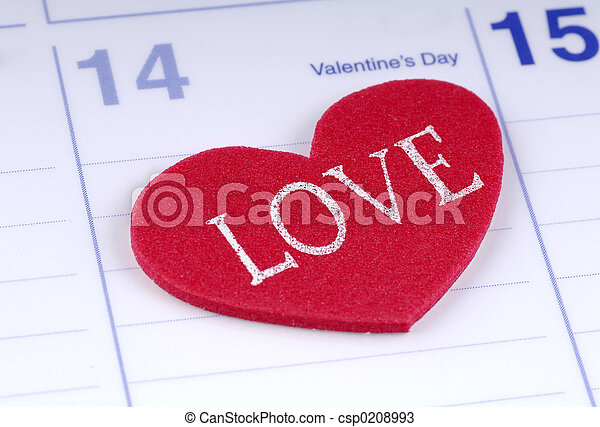 día de valentines - csp0208993