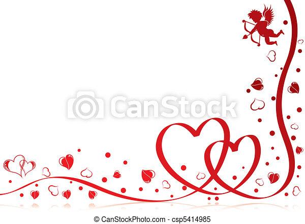 día de valentines - csp5414985