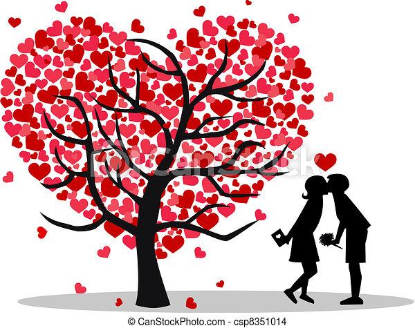 día de valentines - csp8351014