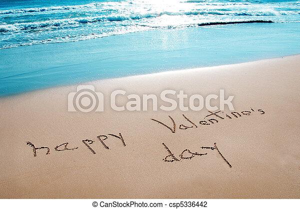 día de valentines, feliz - csp5336442
