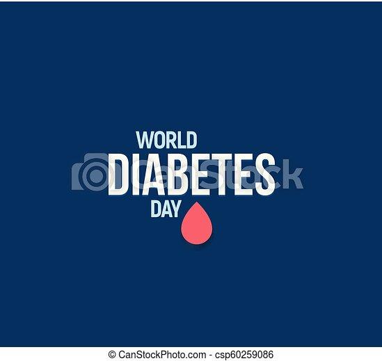logotipo del círculo azul diabetes mellitus