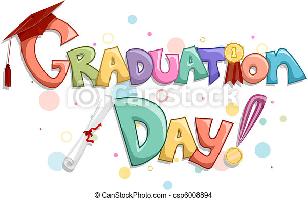 día, graduación - csp6008894