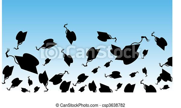 día, graduación - csp3638782