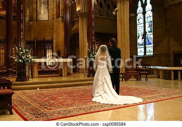 Gran día de bodas - csp0095584