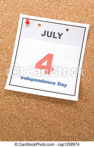 Día de la independencia - csp1258974