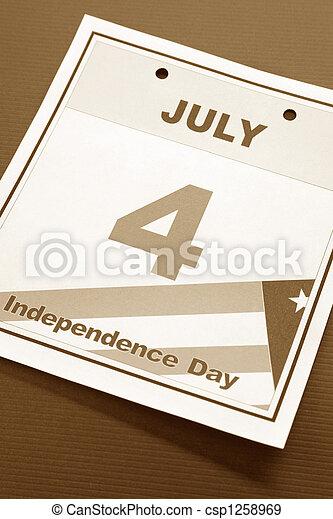 Día de la independencia - csp1258969