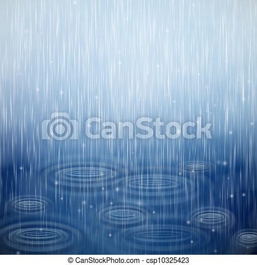 Un día lluvioso - csp10325423
