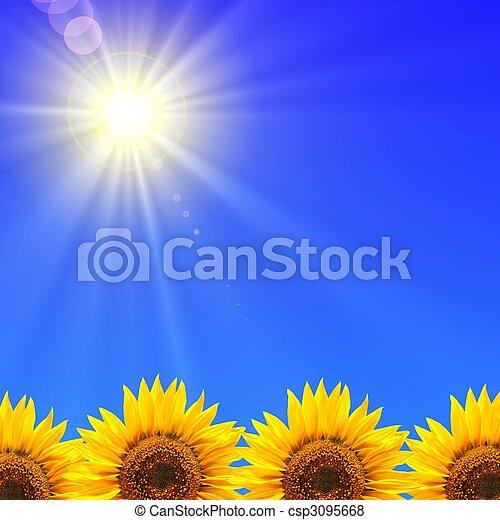 días de fiesta de verano - csp3095668