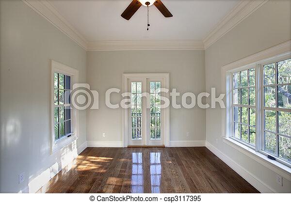dîner, ou, vide, chambre à coucher - csp3117395