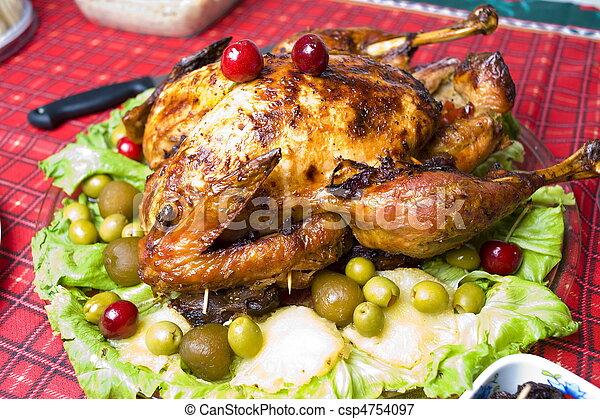 dîner turquie - csp4754097