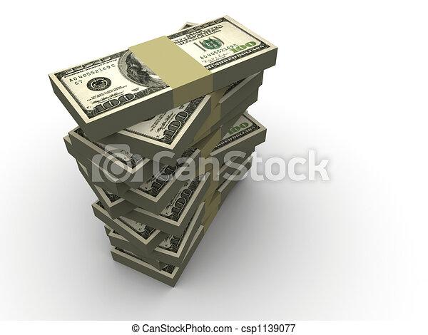 Un dólar - csp1139077