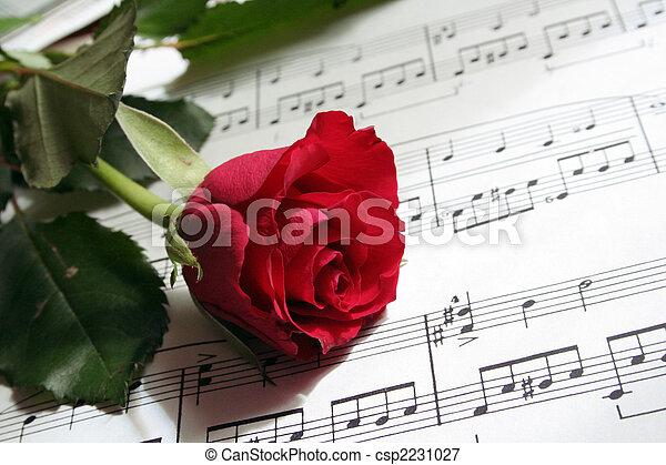 dělat velmi rád písně - csp2231027