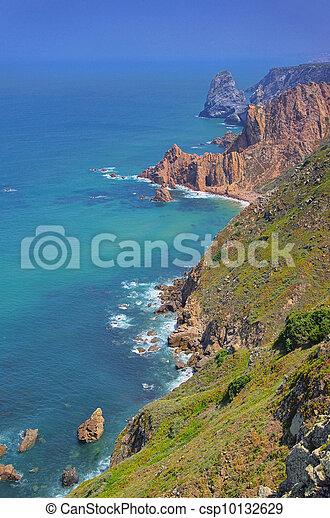 da, 01, cabo, roca, costa - csp10132629