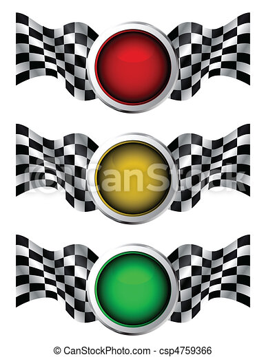 da corsa, semafori - csp4759366