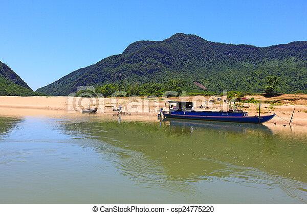 Da Dung Mountains - csp24775220