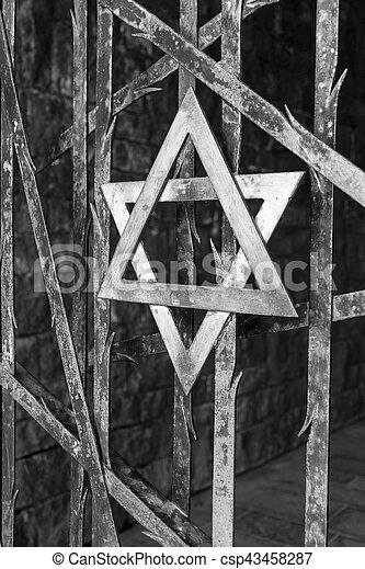 dachau 集中营, 纳粹 - csp43458287