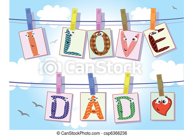 Dad day - csp6366236