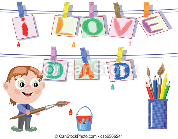 Dad day - csp6366241