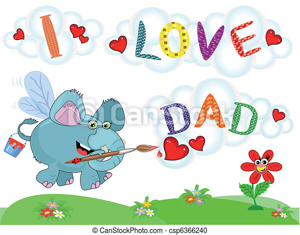 Dad day - csp6366240