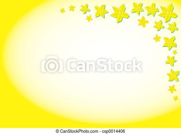 Daffodil Background - csp0014406