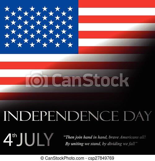dag, onafhankelijkheid - csp27849769