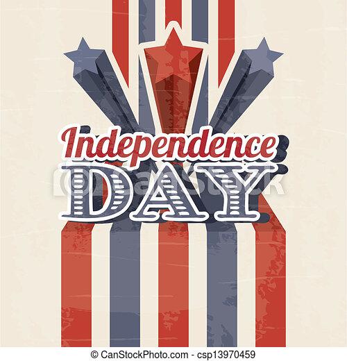 dag, onafhankelijkheid - csp13970459