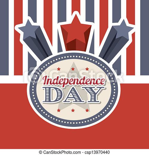 dag, onafhankelijkheid - csp13970440