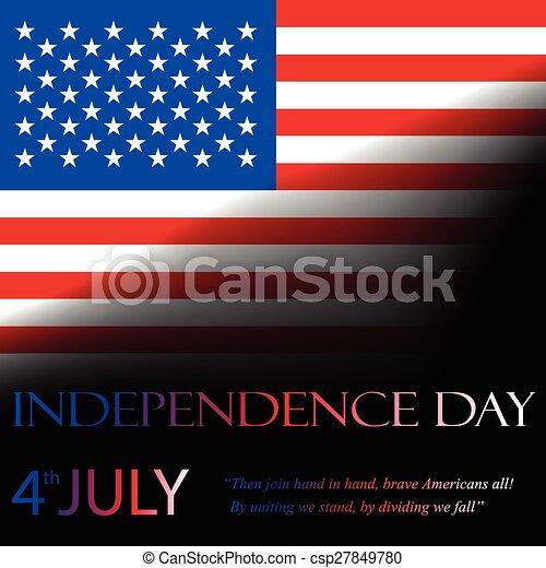dag, onafhankelijkheid - csp27849780