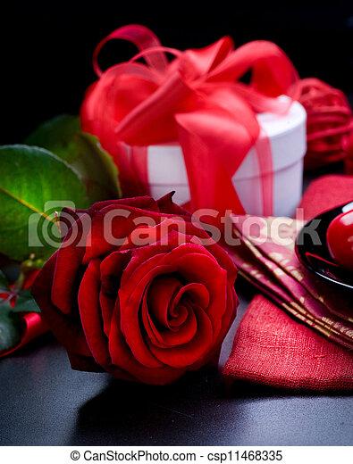 dag, valentinkort - csp11468335