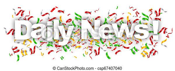 dagelijks nieuws - csp67407040