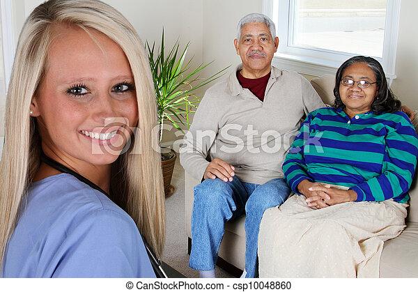 daheim, gesundheitspflege - csp10048860