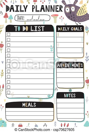 Kids Daily Routine Free Vector Art - (30 Free Downloads)
