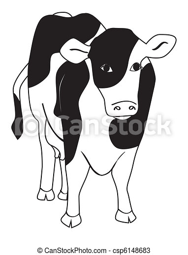 Dairy Cow - csp6148683