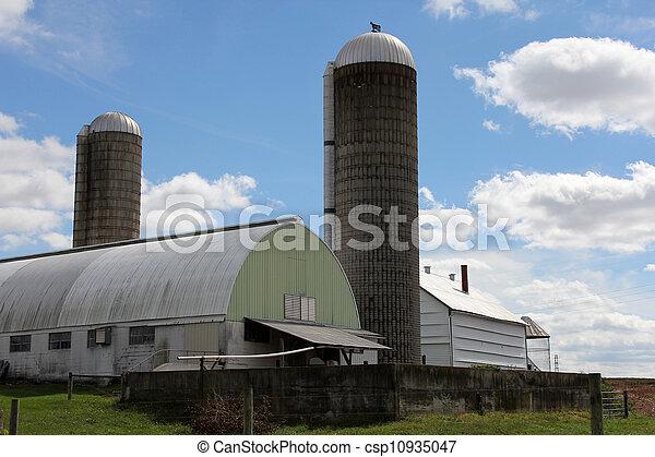 Dairy Farm - csp10935047
