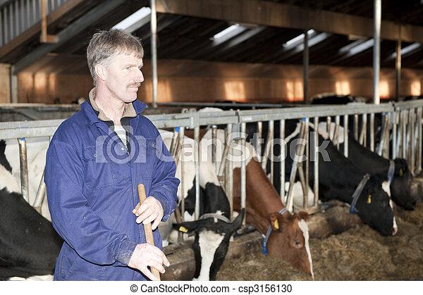 Dairy farmer - csp3156130