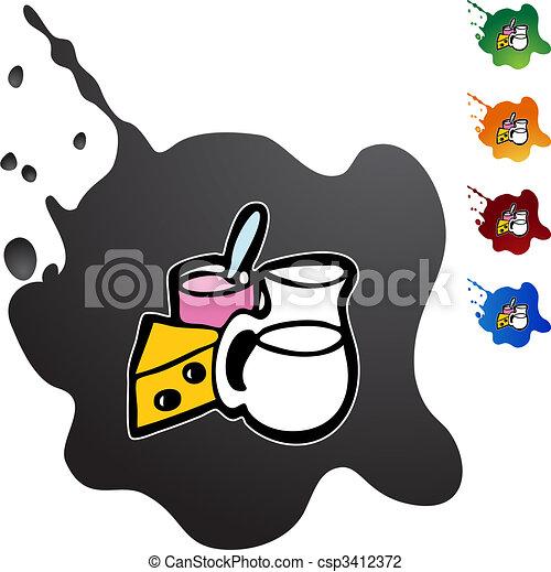 Dairy - csp3412372