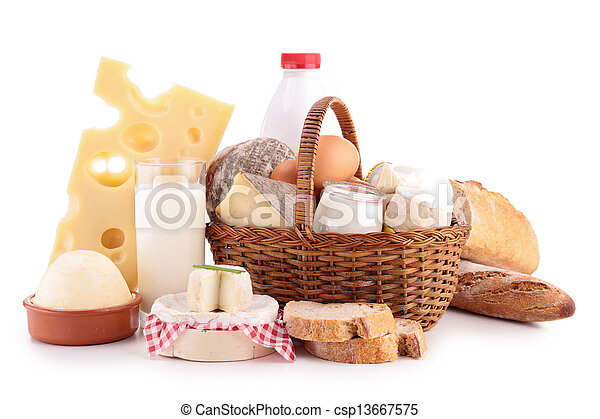 dairy products - csp13667575