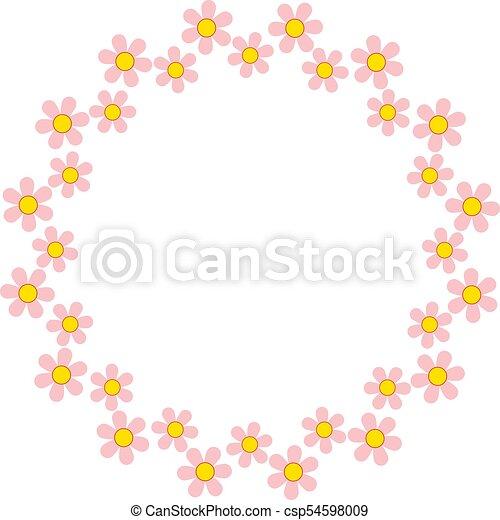 Daisy Circle - csp54598009