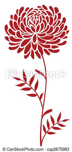 daisy flower pattern - csp2675983