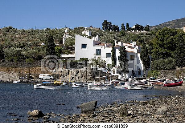 Dali's house, Catalo - csp0391839