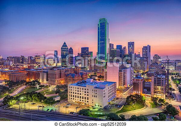 Dallas, Texas, USA - csp52512039