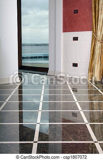 dalle, pulito, pavimento - csp1807072