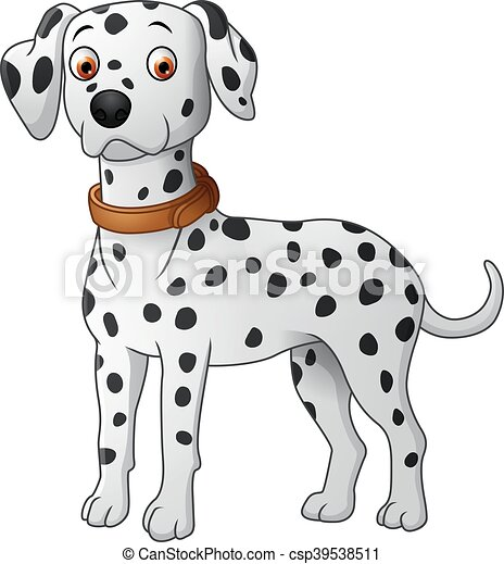 Dalmatian cartoon - csp39538511