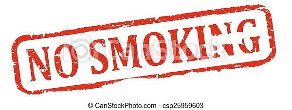 Damage to red round stamp - no smok - csp25959603