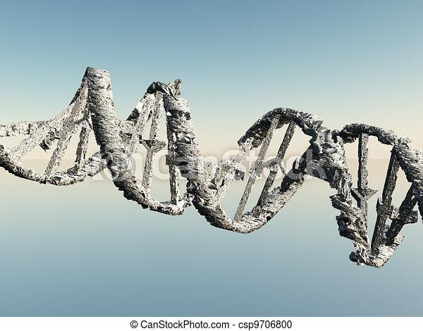 Damaged DNA Strands - csp9706800