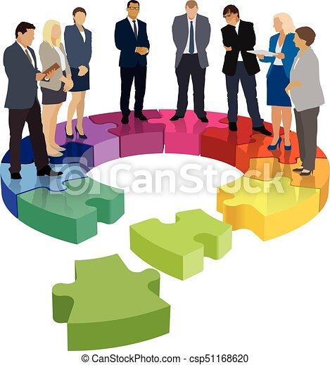 Damaged organizational structure - csp51168620