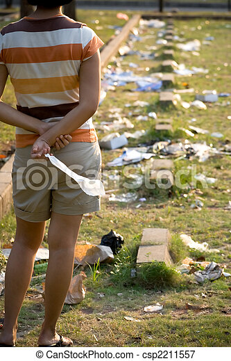 damaging the environment - csp2211557